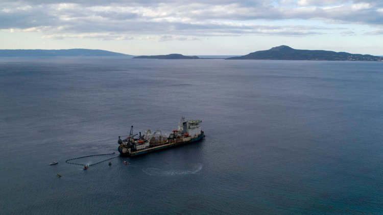 First ever submarine interconnection between the island of Crete and mainland Greece