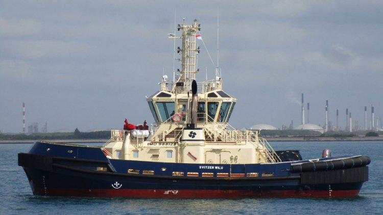 RAL delivered two new tugs to Svitzer Australia