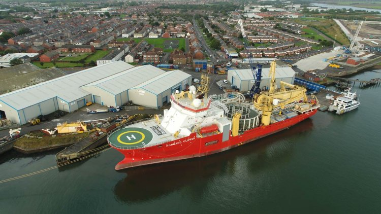Global Offshore completes cable installation campaign at Danish Kriegers Flak OWF
