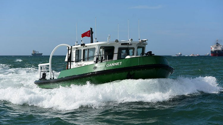 Sanmar delivers two line-handling pusher crafts to Scottish operator