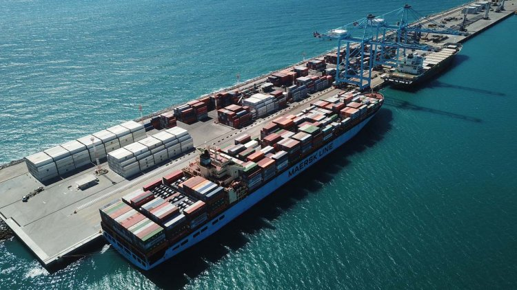 Largest non-containerised cargo operation in the world at APM Terminals Pecém