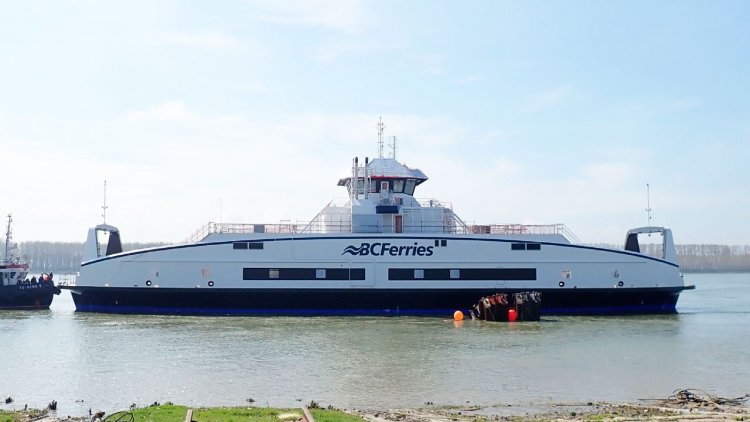 BC Ferries launches its sixth battery electric-hybrid vessel