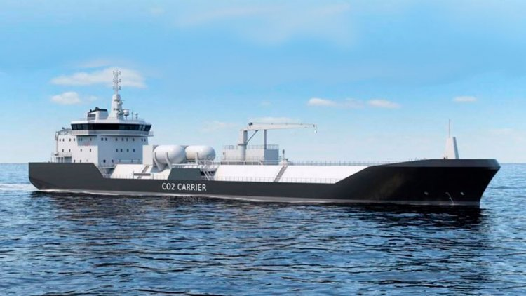 Wärtsilä conducted a study on the systems required for LCO2 vessels