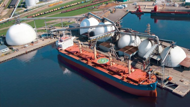 LATRAPS becomes a partner in a dry bulk cargo terminal in the port of Riga