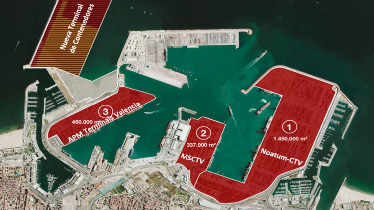 New container terminal at the Port of Valencia will reduce CO2 emissions by 98%