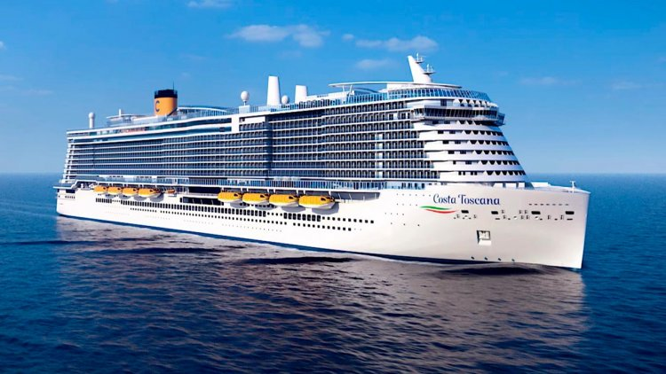 Three Costa's newest ships will operate in the Mediterranean from spring 2022