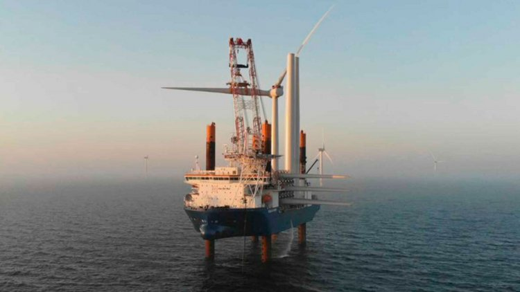 All turbines installed at Kriegers Flak Offshore Wind Farm