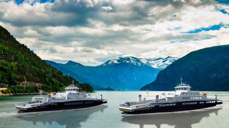 HAV Design signs a contract for two new battery-powered ferries