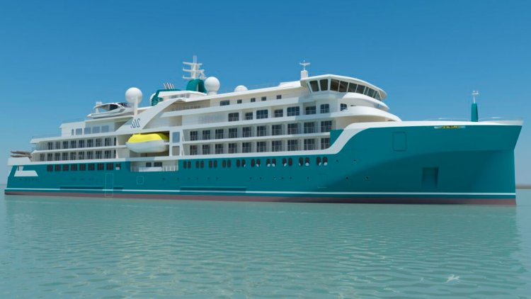 Helsinki Shipyard: The production of the third expedition cruise vessel started