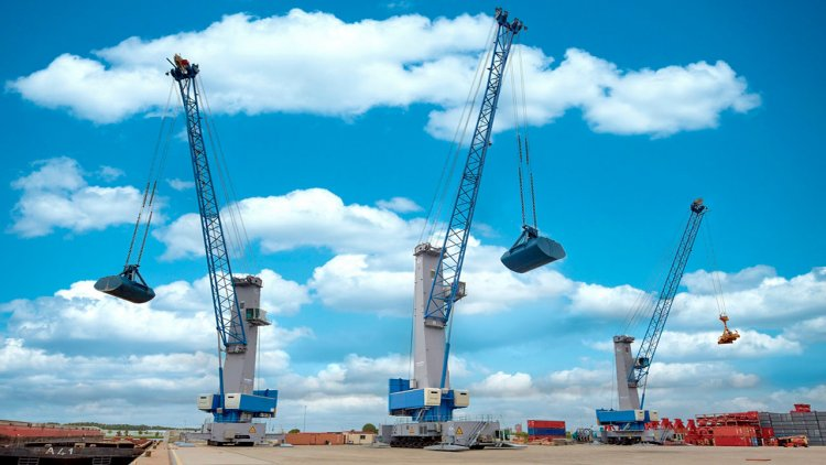 Konecranes launches its sixth generation of mobile harbor cranes