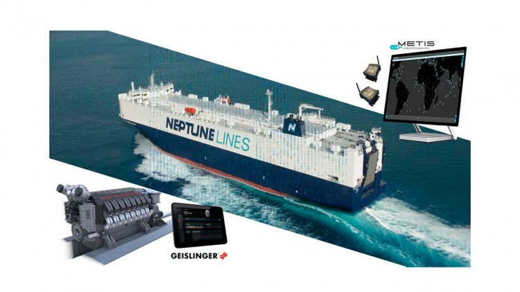 METIS and Geislinger integrate vibrations into Neptune Lines vessel performance trial