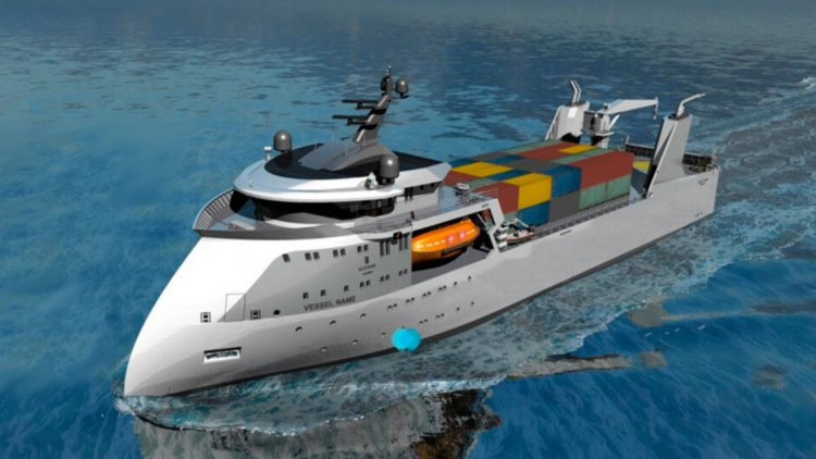 Ulstein and EDGE evaluating hydrogen fuel cells for container vessel concept