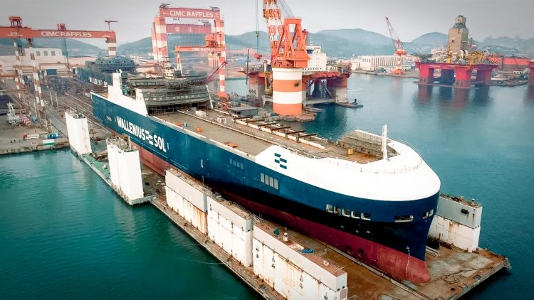 Successful launch of WALLENIUS SOL's new vessel