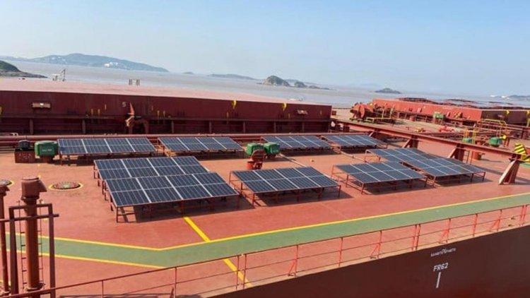 Berge Bulk begins solar power pilot
