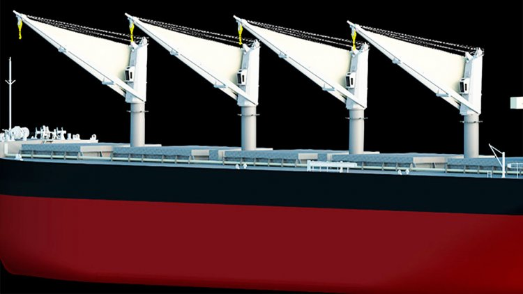 MOL to develop new energy-saving sail to boost ship propulsion