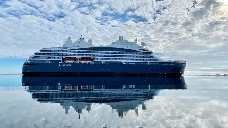 PONANT takes delivery of Le Commandant Charcot first polar exploration ship