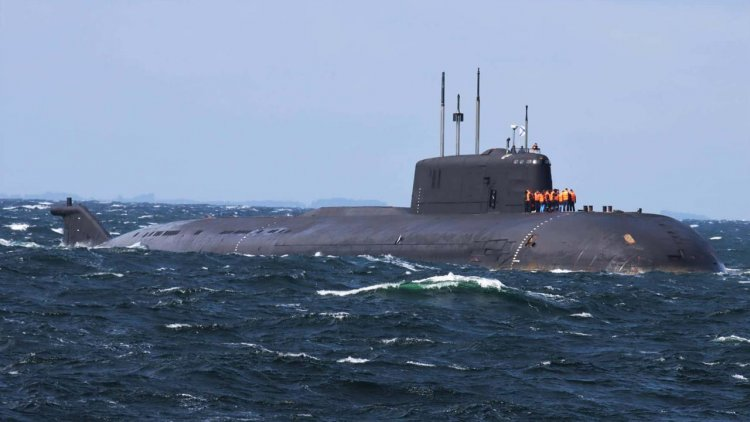 Russian nuclear submarine broke down in Danish waters