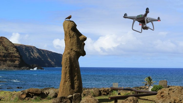 Drone helps researchers find fresh water in the sea