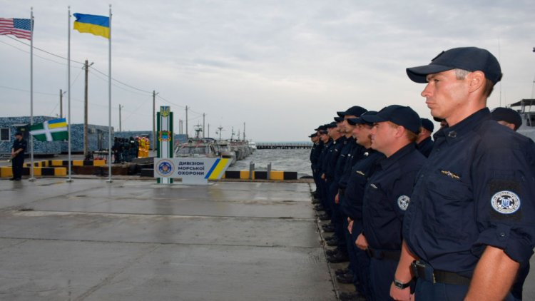 New station for the Naval Guard Division opened in Ukraine