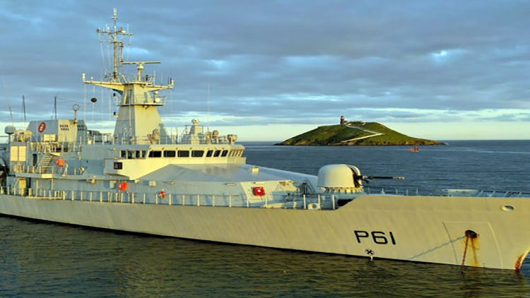 Babcock International secures contract to support the Irish Naval Service