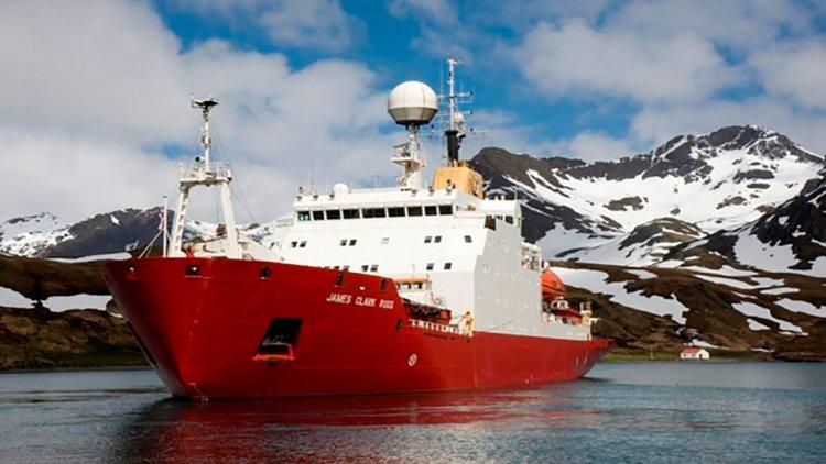 Ukraine bought British James Clark Ross icebreaker