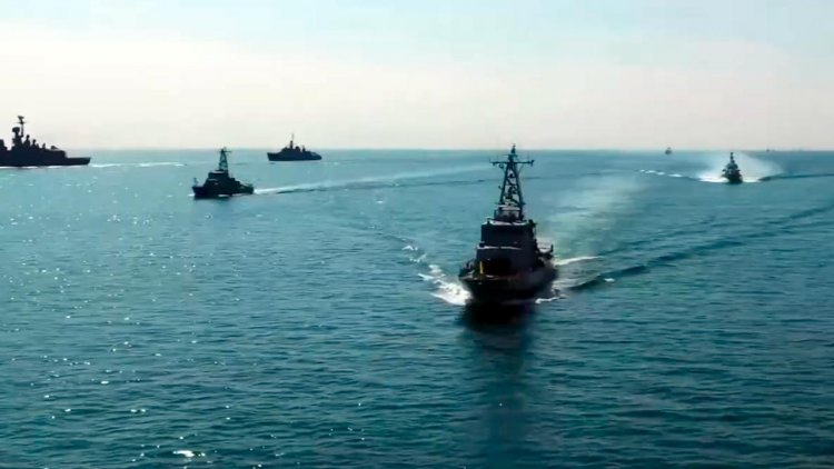 VIDEO: Ukraine holds the first naval parade after a long break