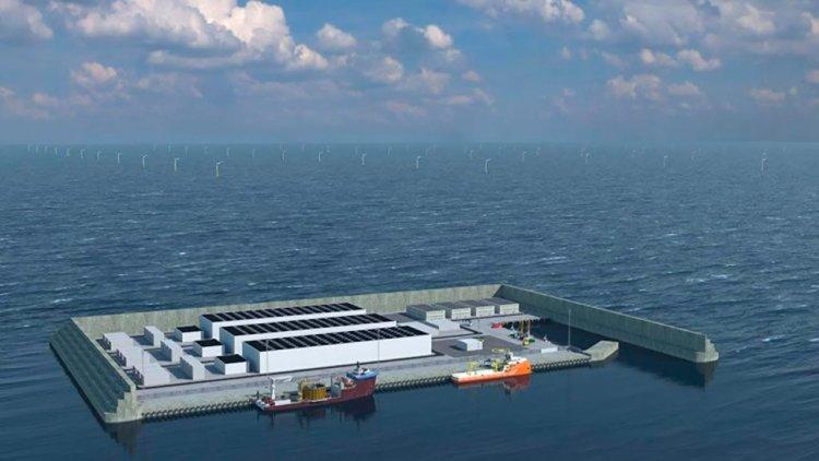 Building artificial islands in the North Sea