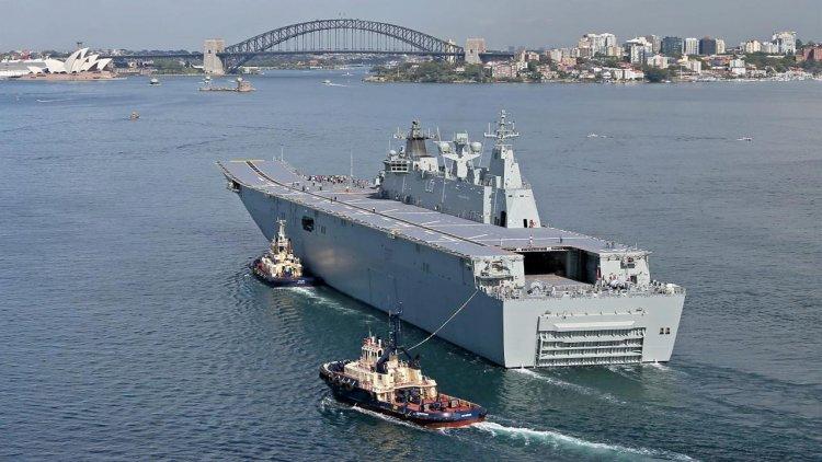 Svitzer Australia awarded towage contract for Royal Australian Navy
