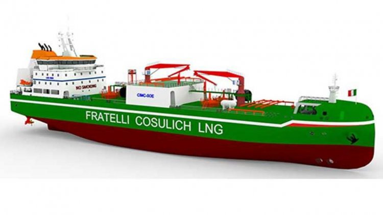 Wärtsilä to supply complete cargo handling system for new LNG bunkering vessel