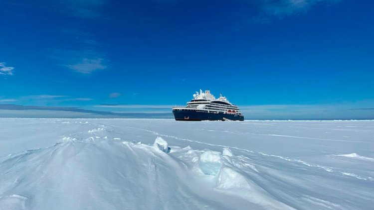 PONANT's polar explorer reaches North Pole, setting new standards for cruise