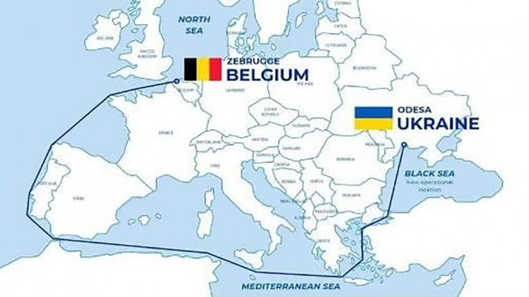 Belgium research vessel given to Ukraine to support monitoring of the marine environment