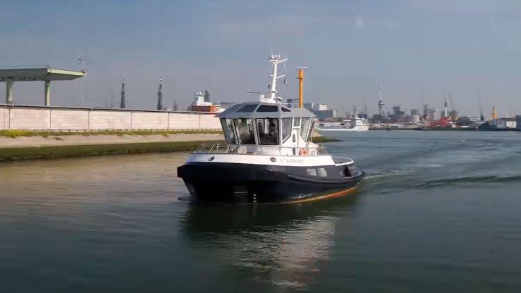 Kotug, Rotortug and Captain AI take a step towards fully autonomous sailing