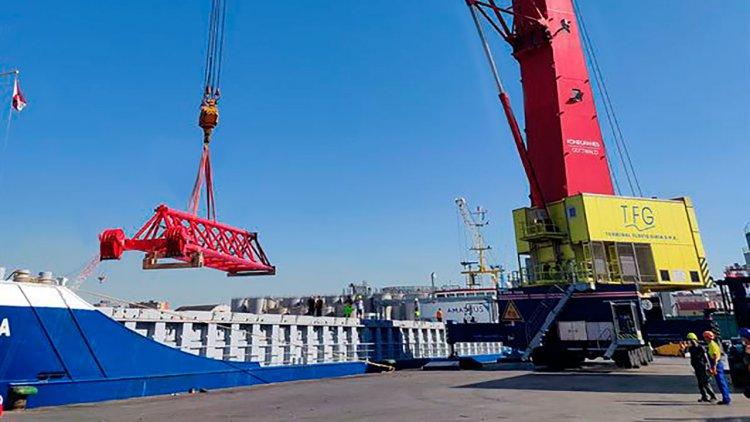 TFG orders two Konecranes Gottwald Mobile Harbor Cranes