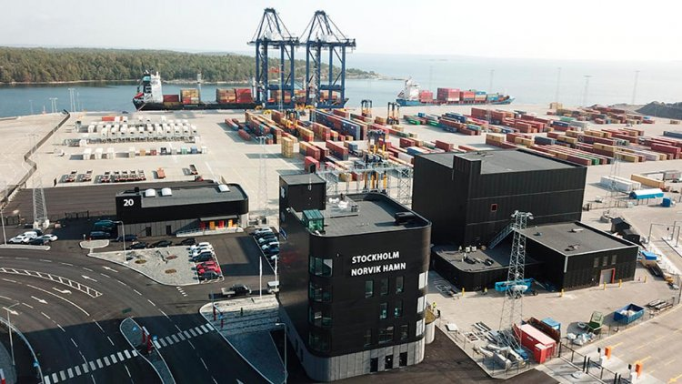 Sweden's largest port solar cell system inaugurated at Stockholm Norvik Port