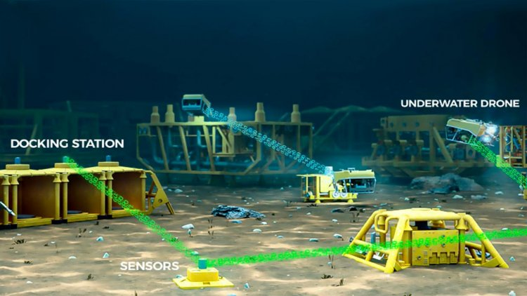 Saipem and WSense jointly develop communication networks for subsea drones