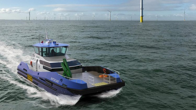 Low carbon wind farm CTV developed by RAL