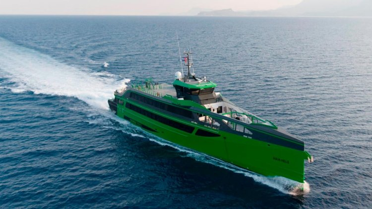 Damen's Fast Crew Supplier 7011 completes sea trials