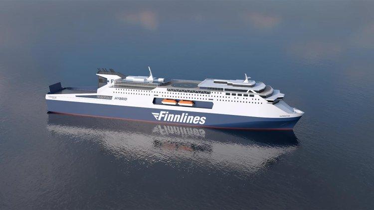 Finnlines: Construction of the second new Superstar ro-pax began