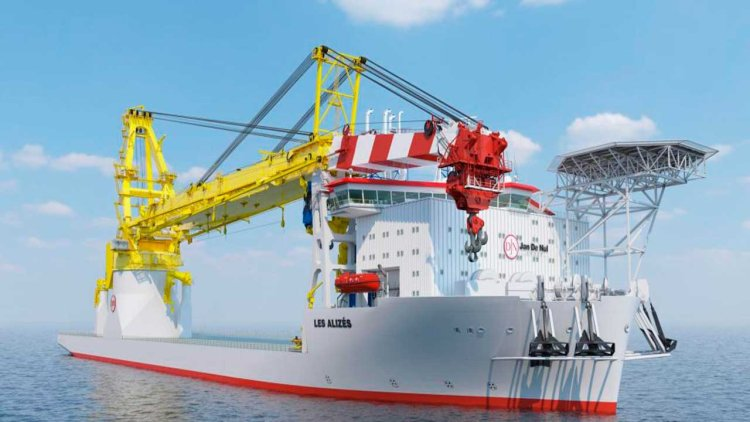 Jan De Nul orders monopile installation system for its floating installation vessel