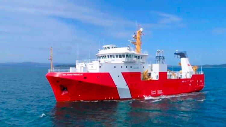 Seaspan S Second Fisheries Science Vessel To The Canadian Coast Guard Seawanderer