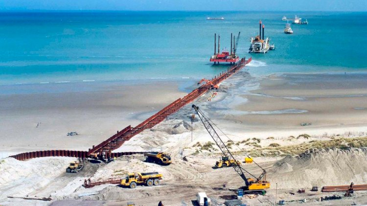 Northwester 2 construction works at sea kicked off