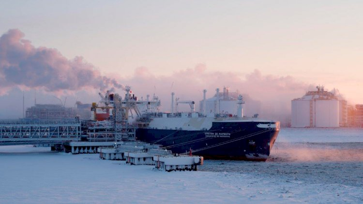Vladimir Rusanov LNG carrier starts NSR 2019 season with record passage