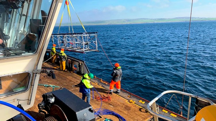 Hydro Bond tests prototype subsea oceanography equipment