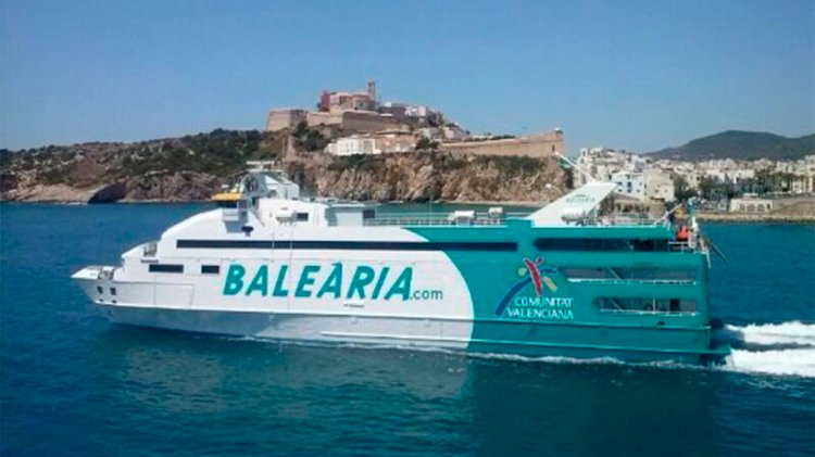 Baleària links Fort Lauderdale and Bimini with a high-speed ferry