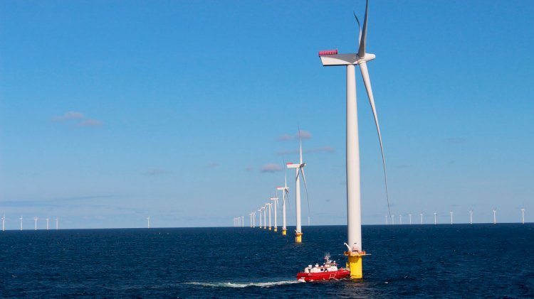 Crown Prince of Denmark inaugurates Horns Rev 3 offshore wind farm