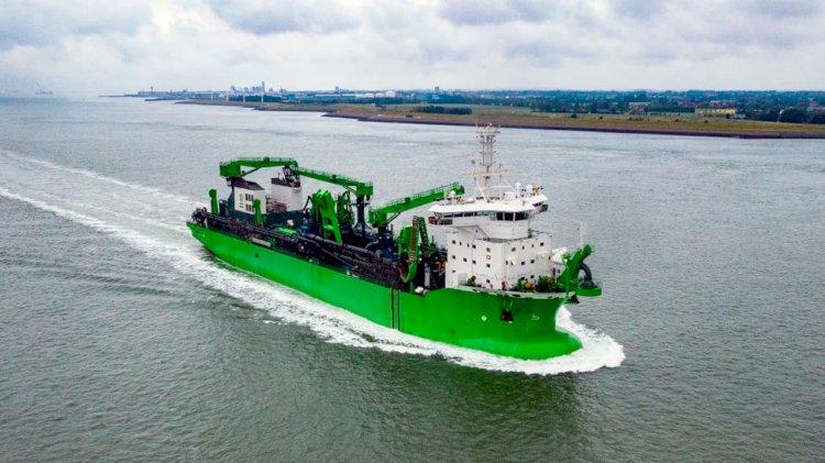 DEME's new dredger features SCHOTTEL propulsion solutions