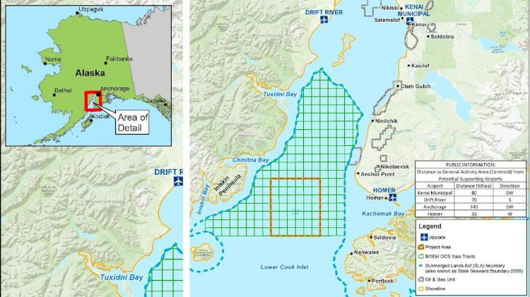 BOEM approves Cook Inlet geophysical survey