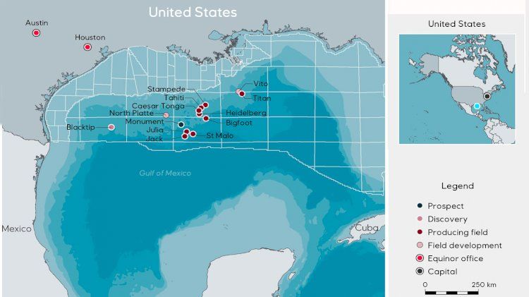 Equinor completes acquisition with Shell in the US Gulf of Mexico