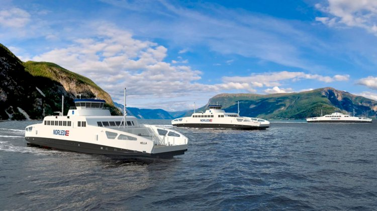 SCHOTTEL to provide propulsion units for three newly built hybrid ferries