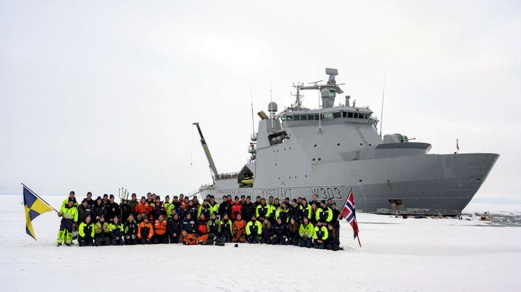 The first time in history: Vessel powered by ABB Azipod propulsion reaches North Pole